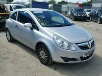 VAUXHALL CORSA D 2006 ONWARDS BREAKING FOR SPARES TEL 07814971951 HAVE FEW MORE IN STOCK 5&3 DOORS