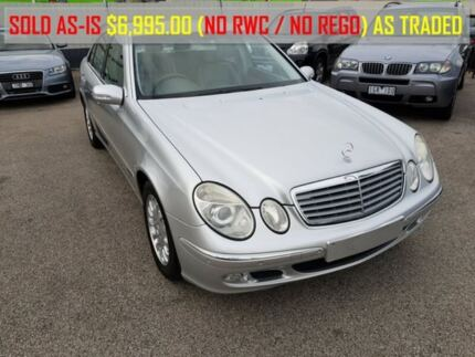 2003 Mercedes-Benz E240 W211 Elegance Silver 5 Speed Sports Automatic Sedan Heatherton Kingston Area Preview