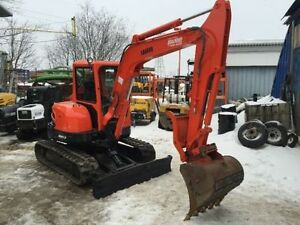 KUBOTA KX161-3 MINI EXCAVATOR 2009 USED