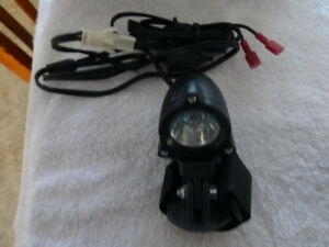 helmet mounted headlamp with battery and charger kit