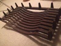 Cast iron chimney tray