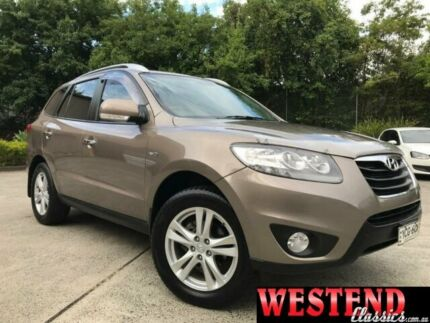 2010 Hyundai Santa Fe Brown Sports Automatic Wagon Lisarow Gosford Area Preview