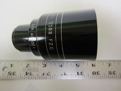 Brand New Westar 55mm FL Speed F2.0 35mm Cine Projector Lens 62.5mm Diameter!