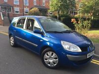 2007/07 REG RENAULT GRAND SCENIC 1.6 ** 7 SEATER ** CHEAP £1395