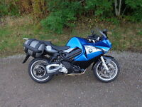 2012 bmw f800st in blue with only 11,292 miles and bmw panniers finance available