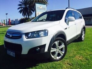 2011 Holden Captiva CG Series II 7 CX (4x4) White 6 Speed Automatic Wagon Maddington Gosnells Area Preview