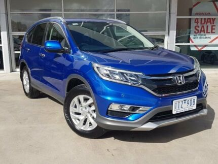 2016 Honda CR-V RM Series II MY17 VTi-S 4WD Blue 5 Speed Sports Automatic Wagon