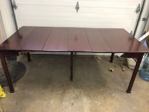 Convertible Dining Table with 4 Chairs