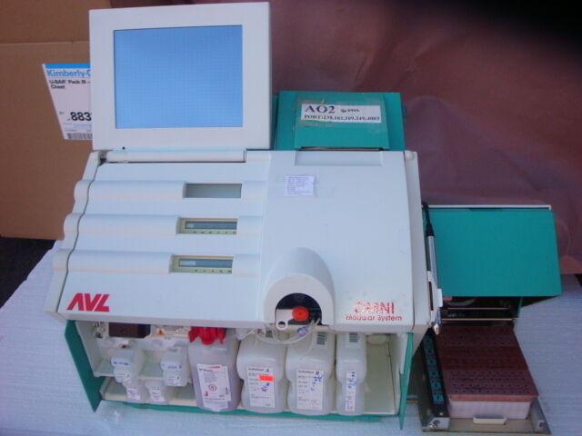 AVL OMNI Blood Gas Analyzer