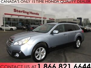 2014 Subaru Outback 2.5i AWD | 1 OWNER | LOW KM'S !!