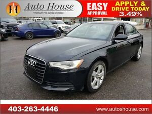 2014 Audi A6 NAVIGATION ALL WHEEL DRIVE 90 DAYS NO PAYMENTS