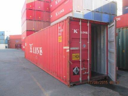 40' Shipping Container Hi-Cube - Brisbane Brisbane Region Preview