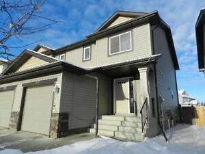 21312-48 Ave **Beautiful Half duplex available**