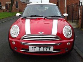Red Mini Cooper 2005