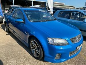 2011 Holden Ute VE II MY12 SV6 Blue 6 Speed Sports Automatic Utility
