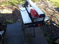 water tile saw (like new condition) + new blade + stand