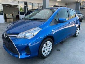 2016 Toyota Yaris NCP130R Ascent Blue 4 Speed Automatic Hatchback Fyshwick South Canberra Preview