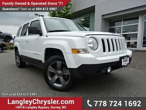 2015 Jeep Patriot Sport/North W/ 4X4, LEATHER UPHOLSTERY & SU...