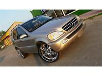 Mercedes-Benz ML-320, 24 INCH MAG RIMS!! NEW SAFETY! ONLY $6495!