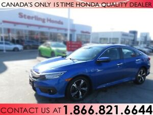 2017 Honda Civic Sedan TOURING | ALL WEATHER MATS | 1 OWNER | NO