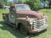 Wanted 1949-1954 chevrolet or ford 1/2 ton