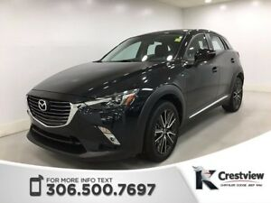 2016 Mazda CX-3 GT AWD | Leather | Sunroof | Navigation
