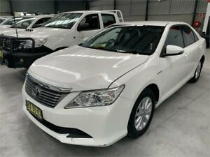 2013 Toyota Aurion GSV50R AT-X White Sports Automatic Sedan