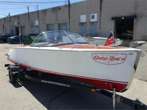 BRUCE 22 RUNABOUT CLASSIQUE CHRIS CRAFT RIVA