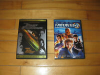 Fast & Furious & Fantastic 4 - DVD's