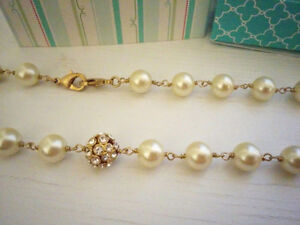 Brand New - Hand-strung glass pearls - Stella and Dot