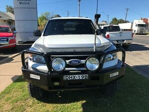 2011 Ford Ranger PK XL (4x4) White 5 Speed Manual Dual Cab Chassis Young Young Area Preview