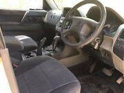 2003 Mitsubishi Pajero NP MY03 GLS White 5 Speed Sports Automatic Wagon South Toowoomba Toowoomba City Preview