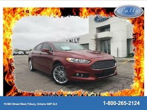 2014 Ford Fusion SE, Moonroof, Nav, Leather!!!