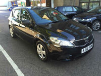 2010 Kia ceed 1.4 Black 5 Door