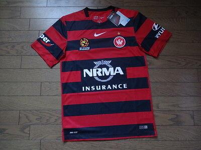Western Sydney Wanderers 100% Original Jersey 2015/16 S BNWT Australia A-League image