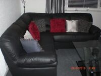 leather corner settee for sale