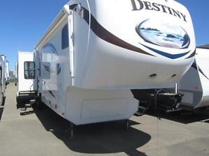 2012 37 FT MVP RV DESTINY 355 RE 5T WHEEL