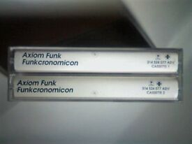 AXIOM FUNK - FUNKCRONOMICON PRERECORDED CASSETTE TAPES. 314524077 ADV. 1995 Rare Advanced Promo Copy