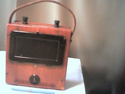 1940s Megger Amperes A.c. Evershed Vignoles Vintage Test Equipment Good