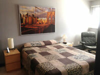 2 bdrm 2 bath condo: furnished includes util, cable, Internet