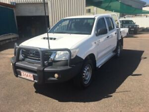 2014 Toyota Hilux KUN16R MY14 SR White 5 Speed Manual Dual Cab Pick-up Berrimah Darwin City Preview
