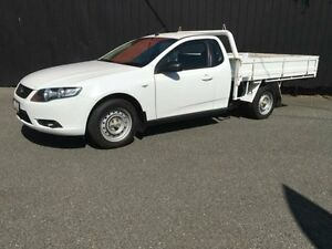 2009 Ford Falcon FG R6 White 4 Speed Automatic 2D Cab Chassis Moorabbin Kingston Area Preview