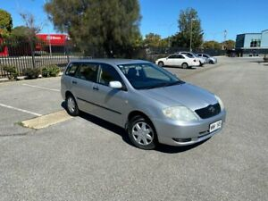 2003 Toyota Corolla ZZE122R Ascent Silver 4 Speed Automatic Wagon Mile End South West Torrens Area Preview