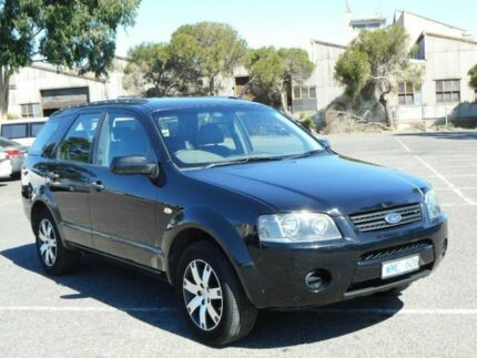 2008 Ford Territory SY SR (RWD) Black 4 Speed Auto Seq Sportshift Wagon Maidstone Maribyrnong Area Preview