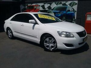 2009 Toyota Aurion GSV40R 09 Upgrade AT-X White 6 Speed Sequential Auto Sedan Greenacre Bankstown Area Preview