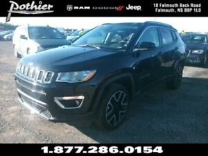 2018 Jeep Compass Limited | LEATHER | SUNROOF | 8.4 TOUCHSCREEN