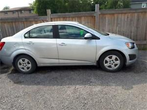 2012 Chevrolet Sonic -Low Km 82000k-2 set of tires-Alloy Wheels
