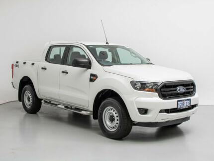 2016 Ford Ranger PX MkII XL 3.2 (4x4) White 6 Speed Automatic Crew Cab Utility Jandakot Cockburn Area Preview