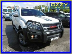 2014 Isuzu D-MAX TF MY14 X-Runner (4x4) White 5 Speed Automatic Crew Cab Utility Penrith Penrith Area Preview