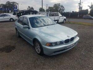 2000 BMW 530i E39 MY01 Sport Silver Sports Automatic Sedan Lansdowne Bankstown Area Preview